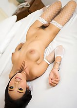 Transsexual Wawa loves fingering her cute winking sphincter