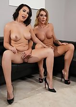 Marissa Minx and Chanel Santini Hardcore!