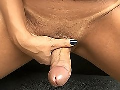 Cute Marcella Italy stroking off her huge juicy dick