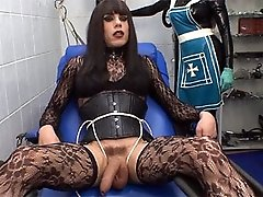Well hung Zoe is getting teased and tortured by a sexy french dominatrix.