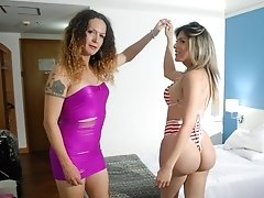 Lorena di Castro and Nikki Sucked and Fucked Eachother