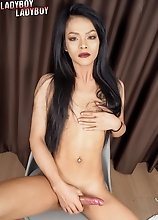 Jesse is one wild ladyboy who enjoys jerking off and shooting a load of cum.
